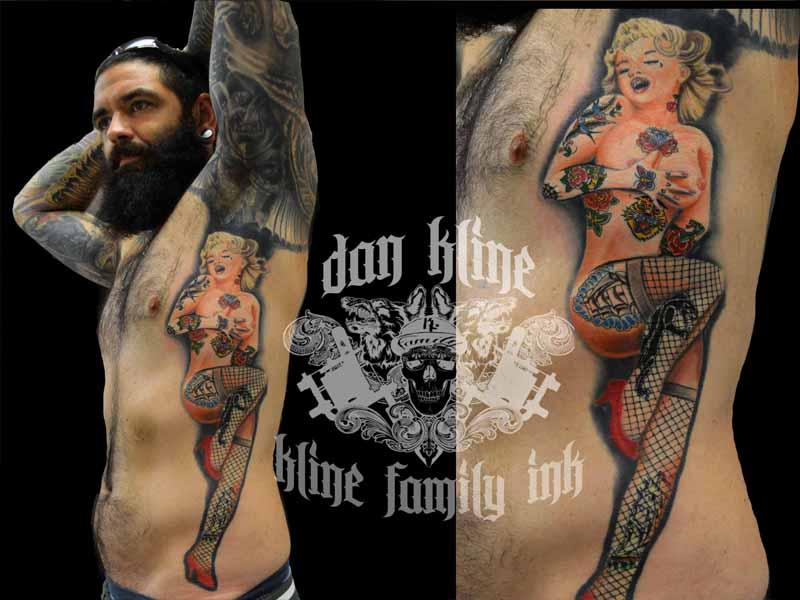 Lehigh valley Tattoo shop Kline Family Ink tattoo artist Dan Kline