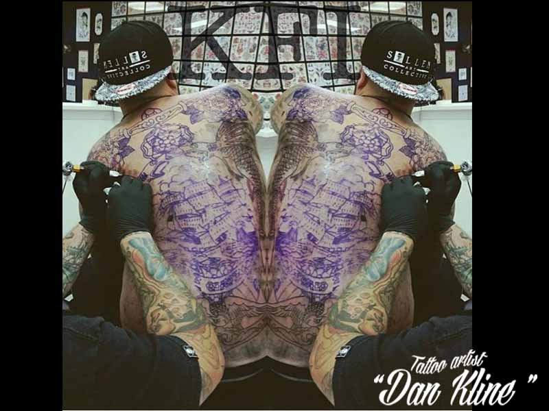 Tattoo artist Dan Kline Kline Family Ink Lehighvalley PA